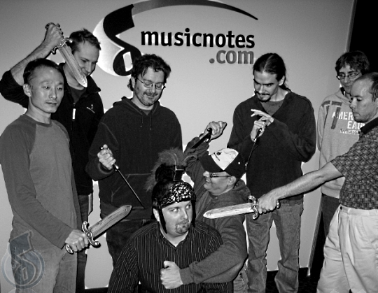Musicnotes.com Production Team