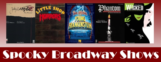 Spooky Broadway Shows