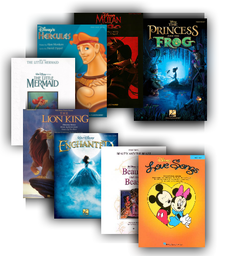 Disney Love Songbooks