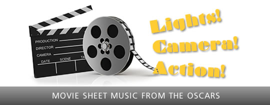 Movie Sheet Music from The Oscars