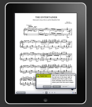 Music notation and composition app for mobile platforms (iOS & Android)