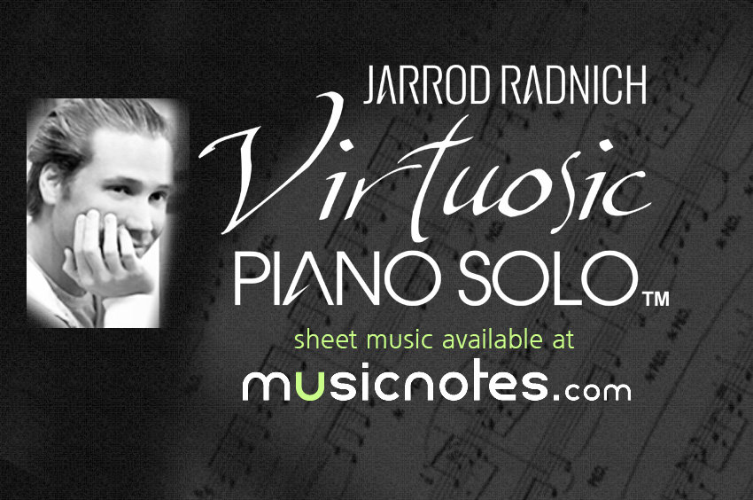 Jarrod Radnich Virtosic Piano Solo sheet music
