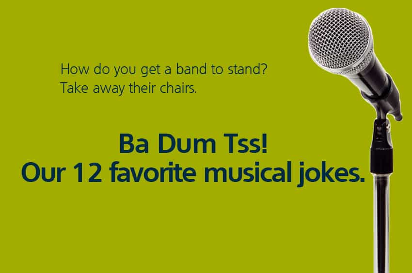 Funny jokes about music