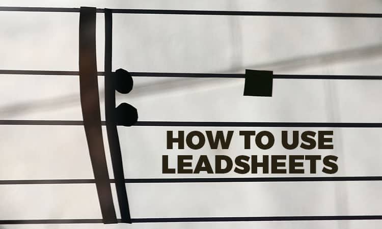 Learn how to read leadsheets