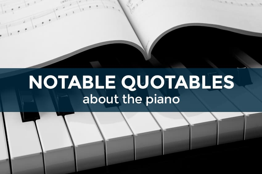 Quotes for pianists