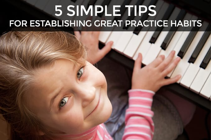 Encouraging Good Practice Habits