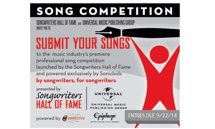Songwriters Hall of Fame Songwriting Competition
