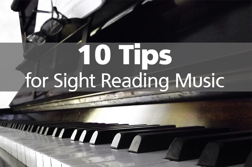 10 tips and tricks for sight reading music. Black Bedroom Furniture Sets. Home Design Ideas