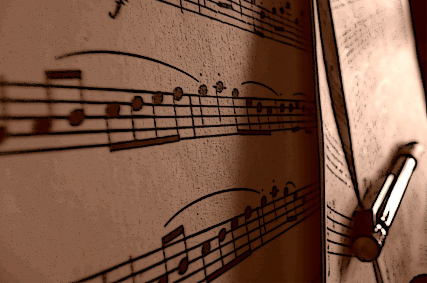 transpose your digital sheet music