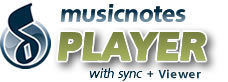 Musicnotes Player + Viewer