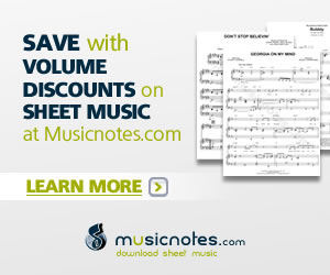 Musicnotes Sheet music