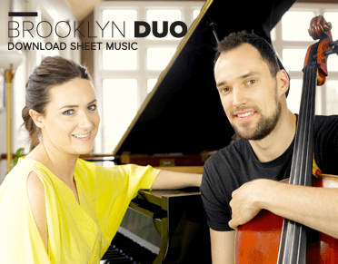 Cello Sheet Music by Brooklyn Duo