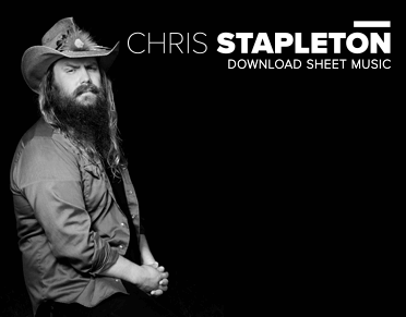 Country sheet music downloads for Songs chris stapleton wrote for others