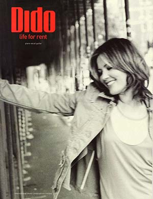Dido Sheet Music and Lyrics