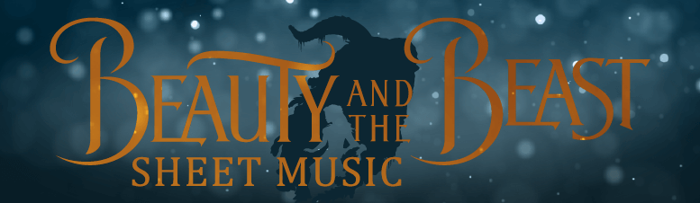Beauty and the Beast 2017 Sheet Music