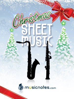 Christmas Sheet Music for Tenor and Soprano Saxophone