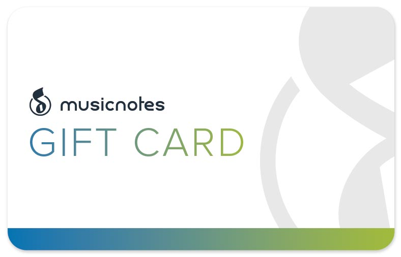 Musicnotes Gift Card