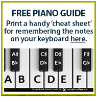 Piano Cheat Sheet