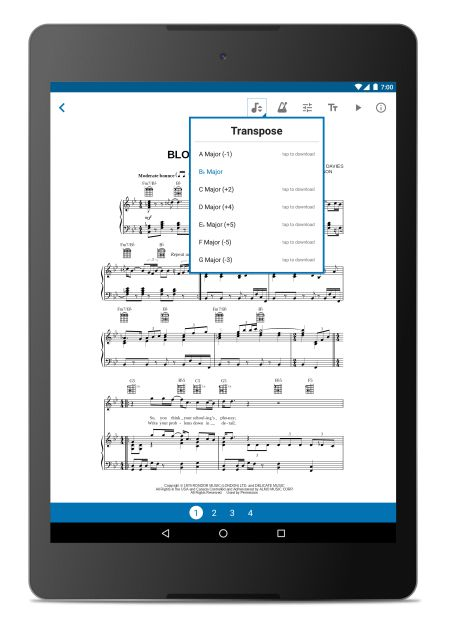 how to download music on android tablet