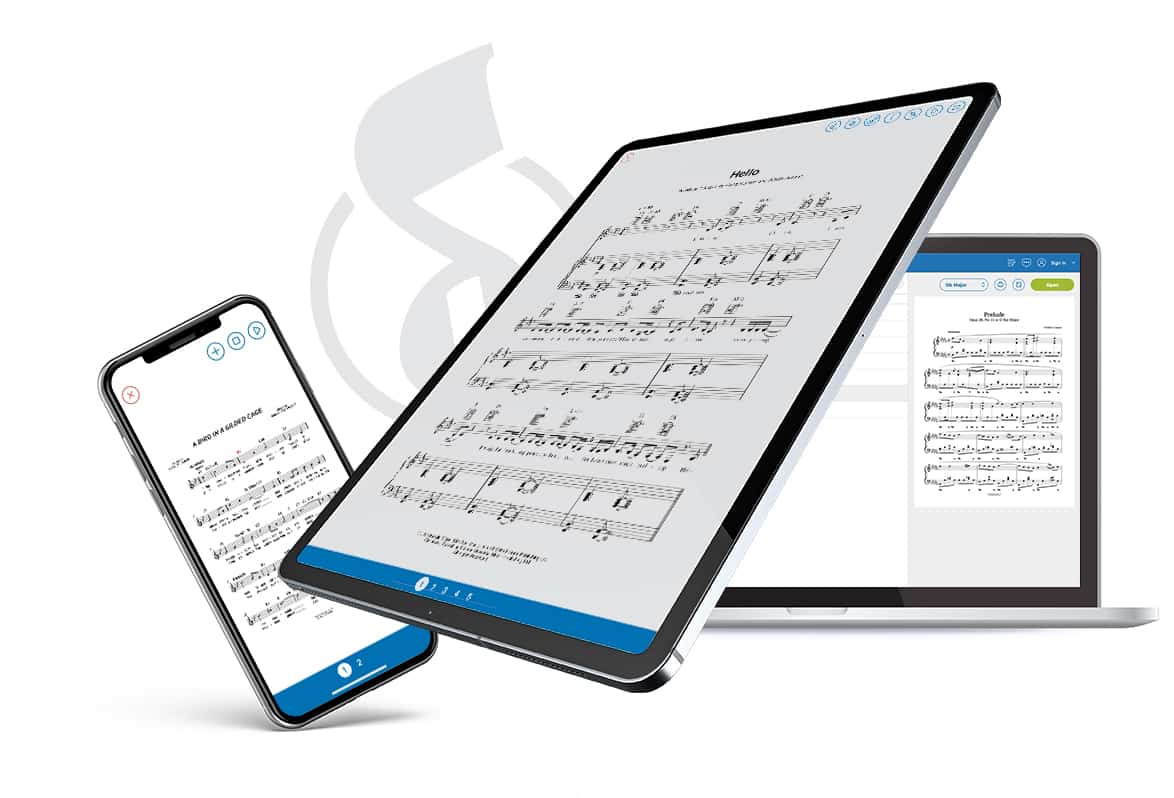 Musicnotes Apps | Sheet Music Anywhere