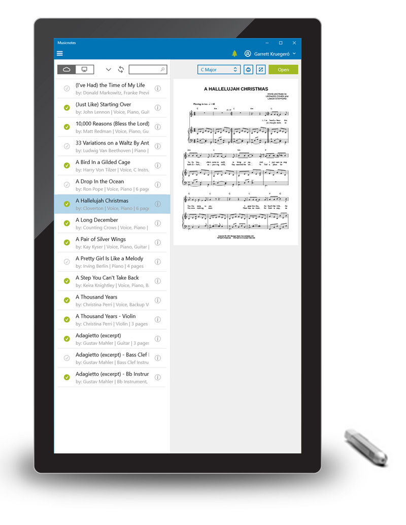 Sheet Music Apps for iPad, iPhone, Android, Mac and Windows ...