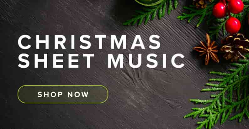 Shop Christmas Sheet Music