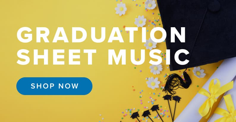 Shop Graduation Sheet Music