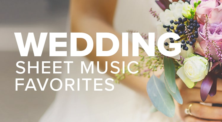 Shop Wedding Sheet Music