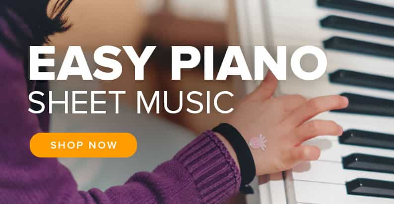Shop Easy Piano Sheet Music