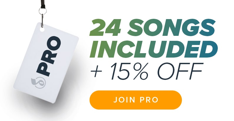 Get 24 Songs and Save 15% with Musicnotes Pro