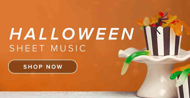 Shop Halloween Sheet Music