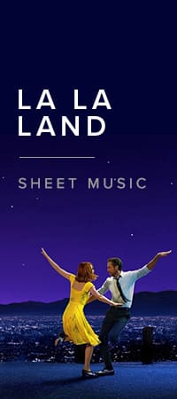 La La Land Sheet Music