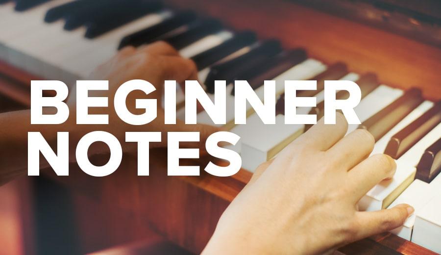 Beginner Notes Sheet Music Downloads | Musicnotes com