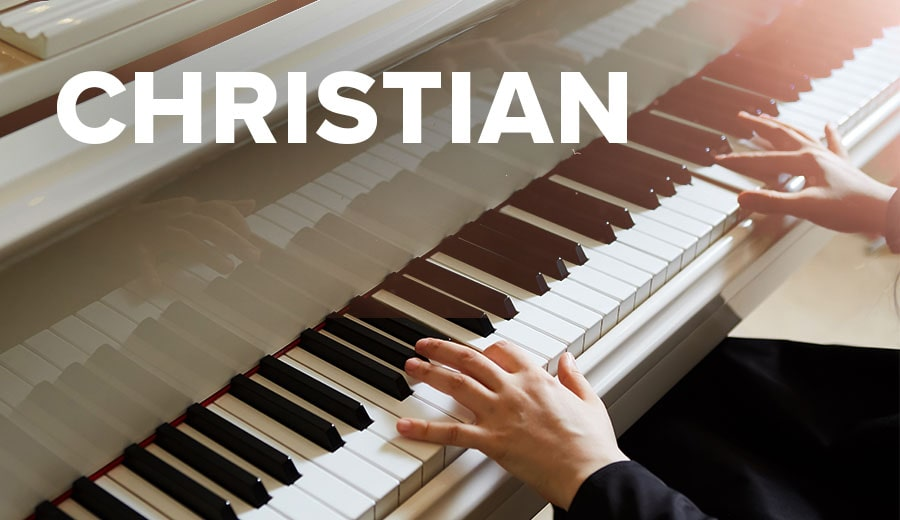 Christian Piano Sheet Music Downloads | Musicnotes com