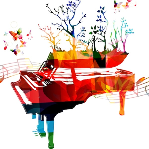 Rainbow Pianist Sheet Music