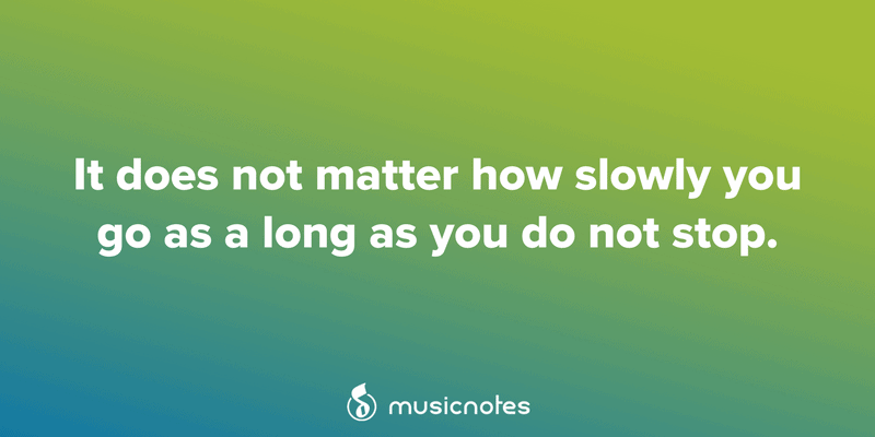 25 Motivational Quotes for Musicians — Musicnotes Now