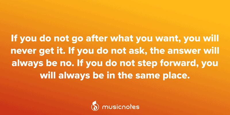25 Motivational Quotes For Musicians Musicnotes Now