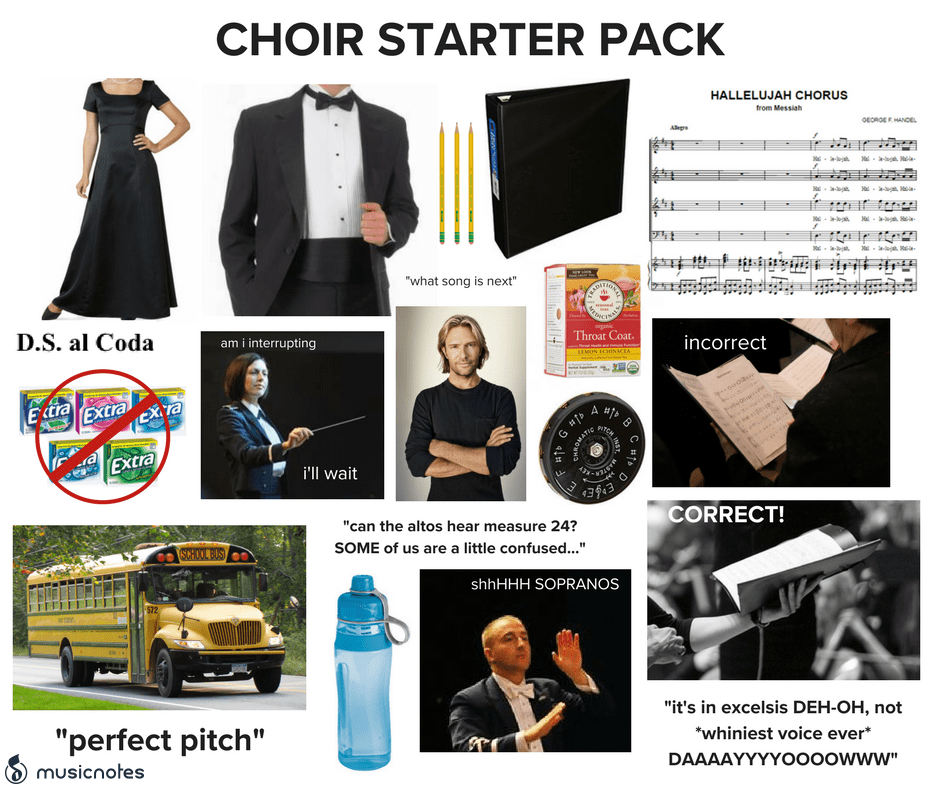 The Best Ensemble of Choir Memes — Musicnotes Now