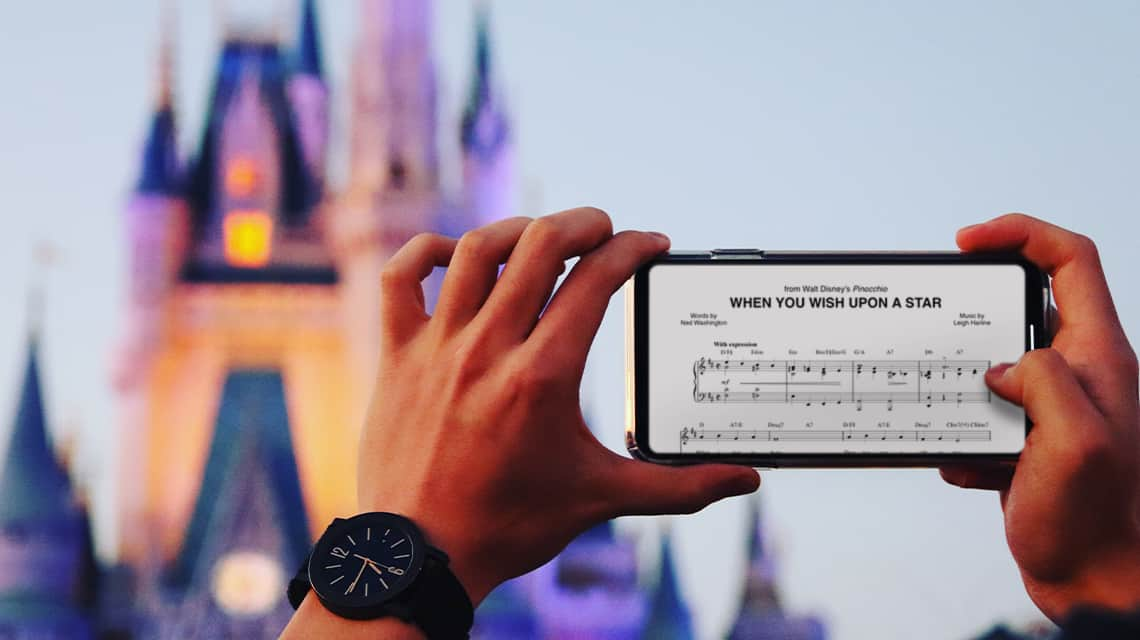 Disney Sheet Music for Every Instrument, Voice Type, and