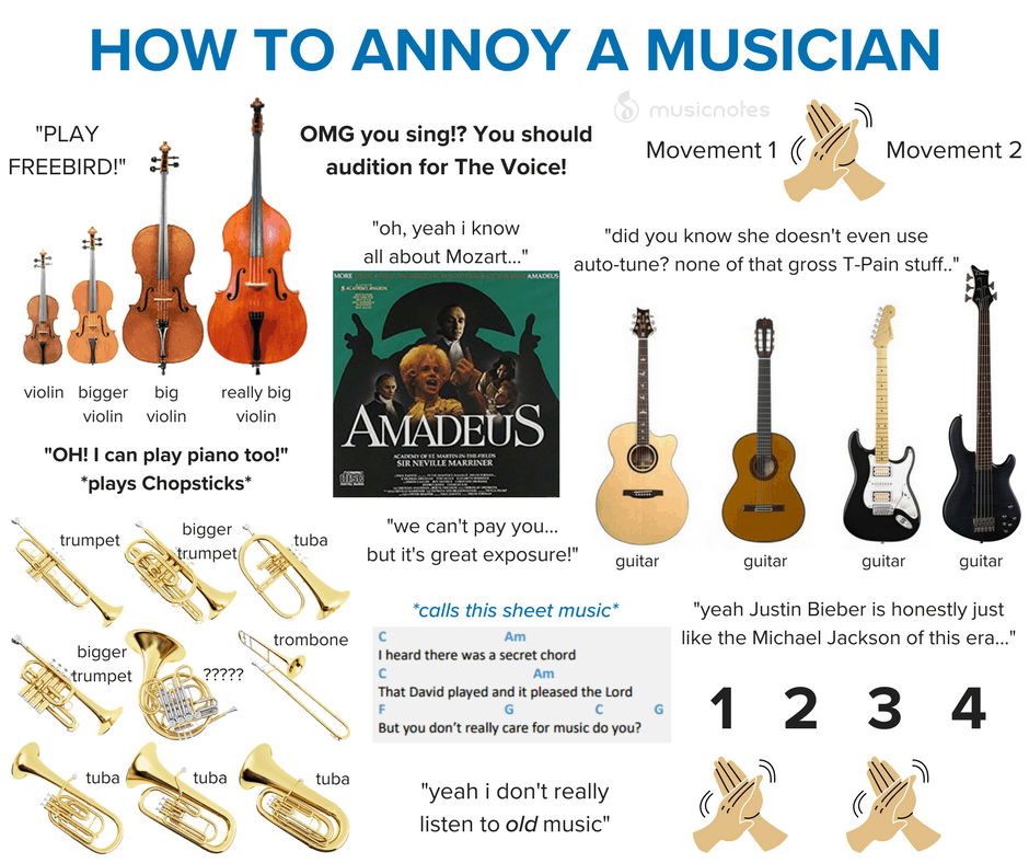 annoy musician memes music musicnotes rocket science via else would type omg fm classic musicmemes hofner guitars comments