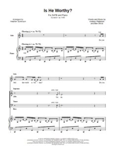 Is-He-Worthy-choral-sheet-music