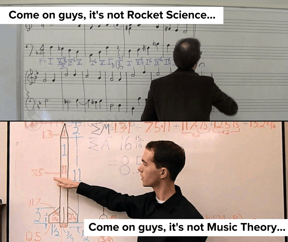 memes music theory science rocket funny classical musician musicnotes meme choir bad musicians musical band chopin boomer jokes musichumor coming