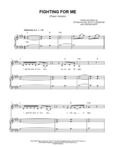 fighting-for-me-piano-version-sheet-music