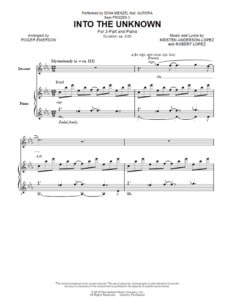 into-the-unknown-choral-sheet-music