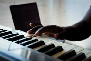 Learning the piano