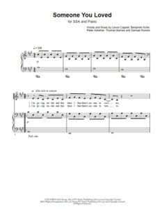 someone-you-loved-choral-sheet-music
