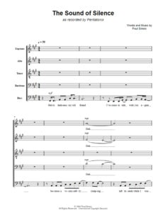 the-sound-of-silence-choral-sheet-music