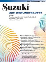 Linda Perry - Suzuki Violin School MIDI Disk Acc./CD-ROM, Volume 1 - Music Book