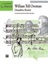 Gioacchino Rossini - William Tell Overture - Music Book