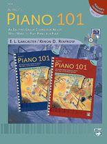 Alfred's Piano 101: Teacher's Handbook for Books 1 & 2 - Music Book